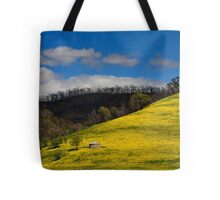 Clash of Seasons Tote Bag