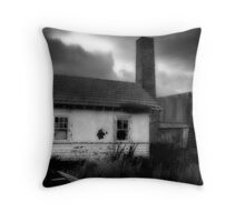 The Olde Pottery II Throw Pillow