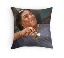 Mr Gold Throw Pillow
