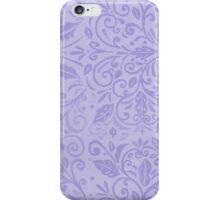 Sapphire Scrolls iPhone Case/Skin