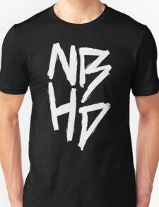 The Neighbourhood (White on Black Version) Unisex T-Shirt