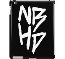 The Neighbourhood (White on Black Version) iPad Case/Skin