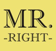 Mr Right Kids Clothes