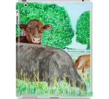 Peeking over 2 iPad Case/Skin