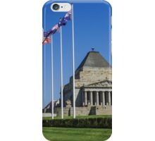 The Shrine of Remembrance iPhone Case/Skin