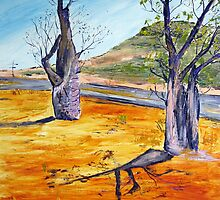 Kimberley boab  by gillsart