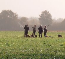 Les Chasseurs by Pamela Jayne Smith