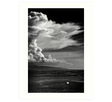 The cloud Art Print