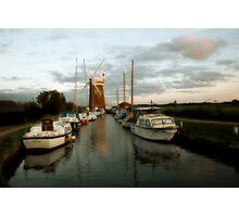 Horsey Windmill Photographic Print