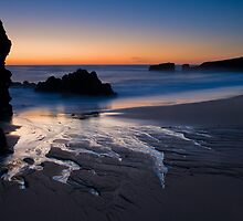 Last Light at Yellow Bank Creek Beach by Zane Paxton