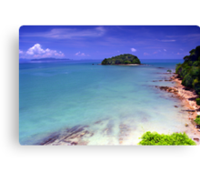 The Small Island Canvas Print