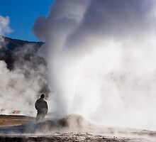 El Tatio Geysers at dawn by parischris