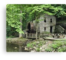 """Rice Grist Mill""... prints and products Canvas Print"