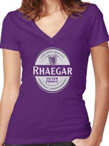 Rhaegar Guinness Women's Fitted V-Neck T-Shirt