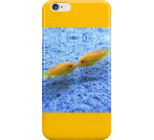 Kissing Fishes iPhone Case/Skin