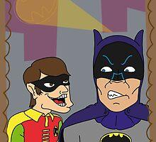 Batman hate Robin by ElBloody