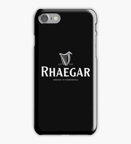 Rhaegar Guinness Logo iPhone Case/Skin