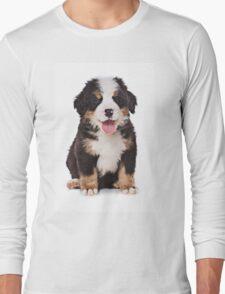 Bern Shepherd Puppy Long Sleeve T-Shirt