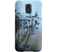 Dusk flowers Samsung Galaxy Case/Skin