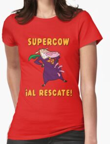 SUPERCOW! Womens Fitted T-Shirt