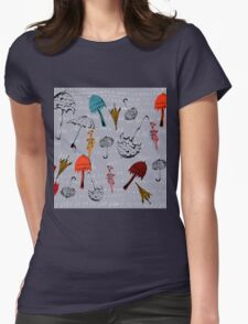 Funky Brollies Womens Fitted T-Shirt