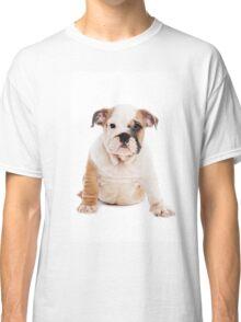 bulldog Puppy Classic T-Shirt