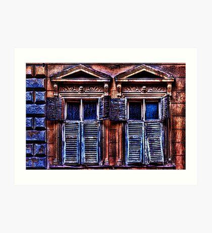 Mystical Windows Fine Art Print Art Print