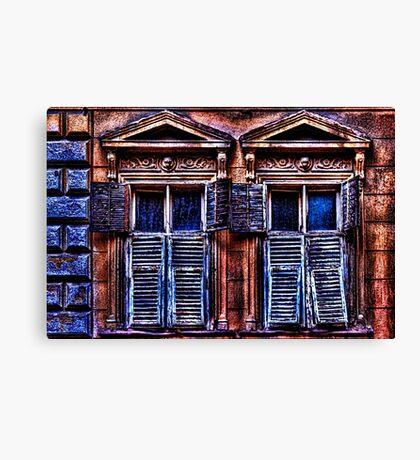Mystical Windows Fine Art Print Canvas Print