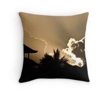 Ubud Sunrise Throw Pillow