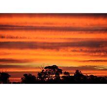 Sunset #021 aug 2009 Photographic Print