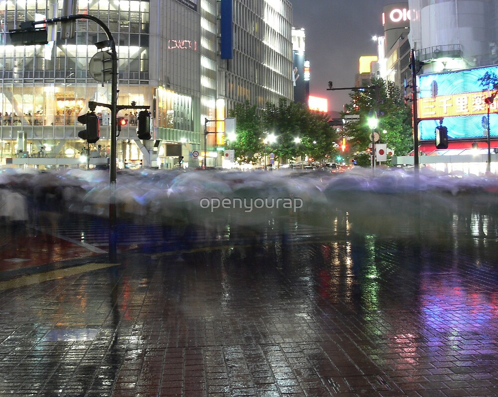 RainyRush by openyourap
