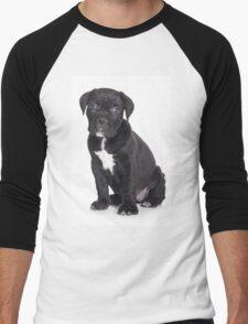 Black Cane Corso puppy Men's Baseball ¾ T-Shirt