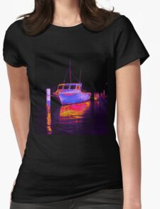 Fishing at Woy Woy bay 2.1 Womens Fitted T-Shirt