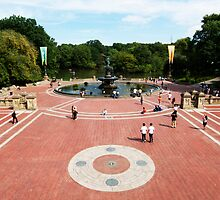 Bethesda Fountain, Central Park, New York City by Jeff Blanchard