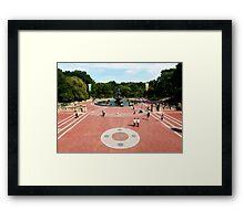 Bethesda Fountain, Central Park, New York City Framed Print