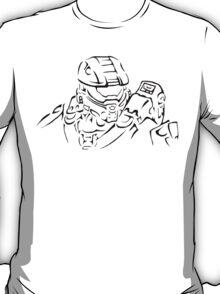 Master Chief Headshot Celtic T-Shirt