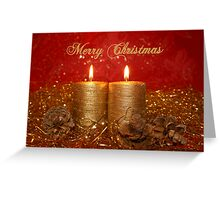 candle light 02 (Christmas card) Greeting Card