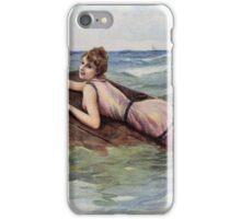 Au But by L Rossi risque capsized girl iPhone Case/Skin