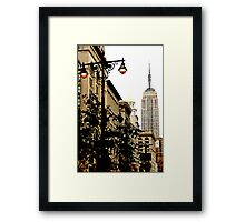 5th Avenue, New York City Framed Print