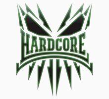 Hardcore TShirt - Green DarkEdge by Coreper
