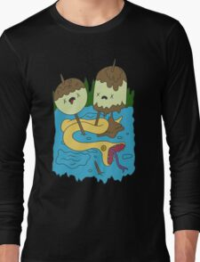 Adventure Time - PB Rock shirt Long Sleeve T-Shirt