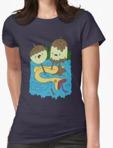 Adventure Time - PB Rock shirt Womens Fitted T-Shirt
