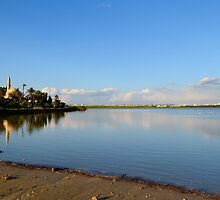 Hala Sultan Tekke in Cyprus by louizaa