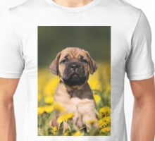 Cute Puppy mastiff Unisex T-Shirt