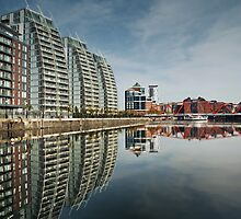 Salford Quays by Steve  Liptrot