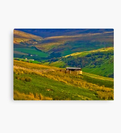 The Beauty of the Dales Canvas Print