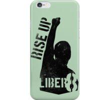 LIBER8 - rise up iPhone Case/Skin