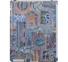 Underfoot - a collage of textures iPad Case/Skin