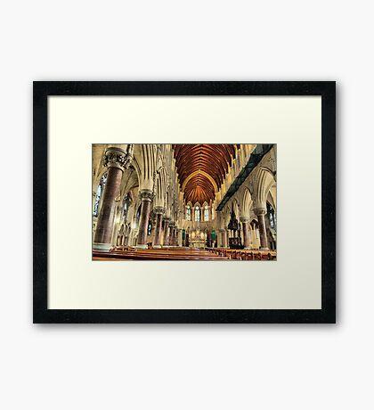 st colemans church ,cobh co.cork ireland Framed Print