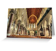 st colemans church ,cobh co.cork ireland Greeting Card